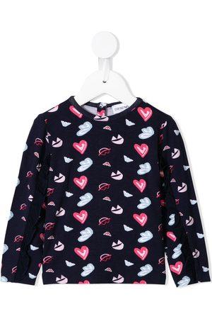 Emporio Armani Setit - Heart print jersey set