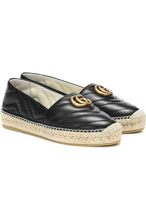 Gucci Naiset Espadrillot - Marmont quilted leather espadrilles