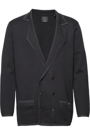 Scotch&Soda New Longer Length Double Breasted Knitted Blazer Neuletakki Sininen