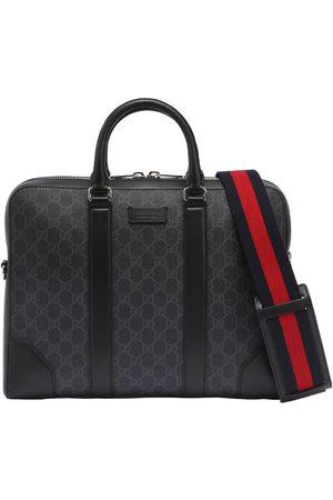 Gucci Miehet Tietokonelaukut - Slim Gg Supreme Logo Briefcase