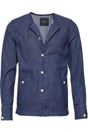 Scotch & Soda Ams Blauw Matchy Matchy Tailored Workwear Jacket Farkkutakki Denimtakki Sininen