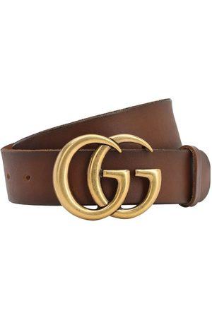 Gucci Naiset Vyöt - 40mm Gg Leather Belt