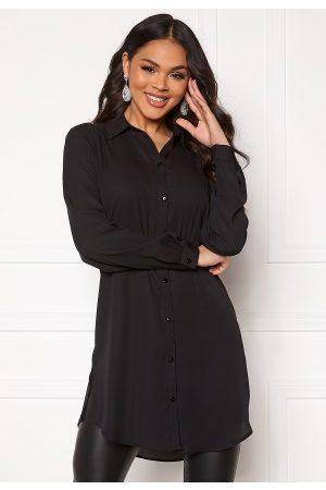 Vila Lucy Button L/S Tunic Black 34