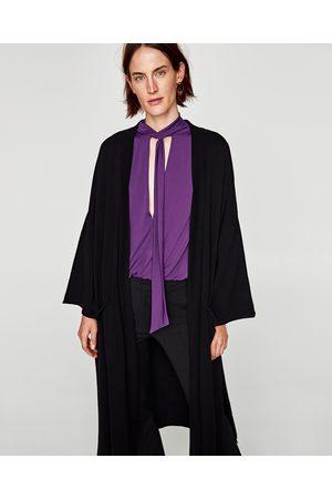 Zara LONG KIMONO CARDIGAN - Available in more colours