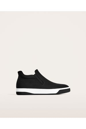 Zara HIGH TOP SNEAKERS WITH NO FASTENING
