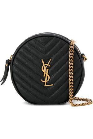 Saint Laurent Round quilted bag