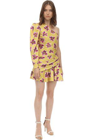 Borgo De Nor Naiset Printtimekot - Printed Satin Jacquard Mini Dress