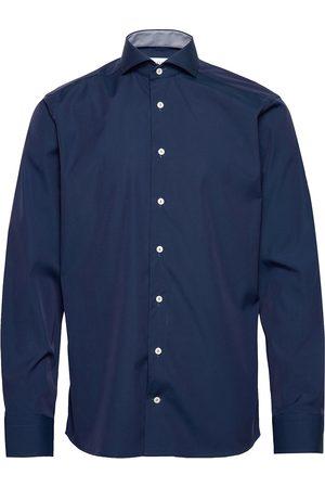 Eton Miehet Bisnes - Poplin Shirt – Micro Print Details Paita Bisnes
