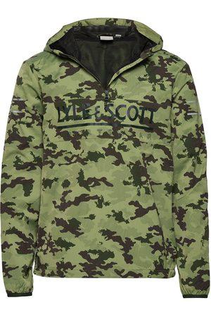 Lyle & Scott Miehet Parkatakit - Oth Anorak Outerwear Jackets Anoraks Vihreä