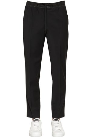 Dolce & Gabbana Miehet Stretch - Stretch Wool Blend Pants