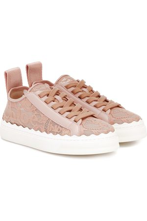 Chloé Naiset Tennarit - Exclusive to Mytheresa – Lauren lace sneakers