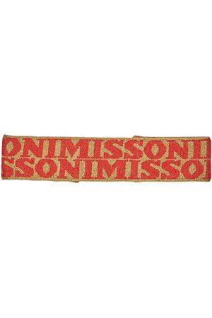 Missoni Naiset Hiuspannat - Logo Jacquard Headband