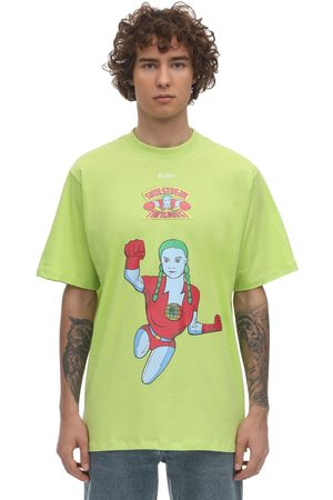 KLSH - KIDS LOVE STAIN HANDS Hero Printed Cotton T-shirt