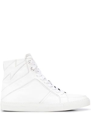 Zadig & Voltaire High Flash lace-up sneakers