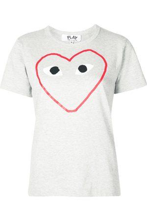 Comme des Garçons Naiset T-paidat - Logo print T-shirt