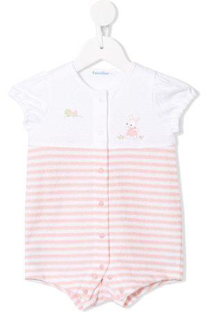 Familiar Striped print short sleeve body