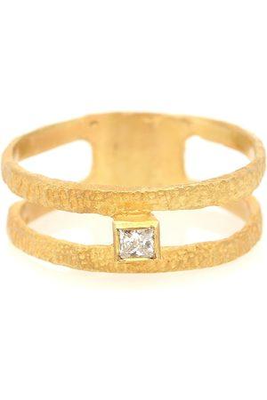 Orit Elhanati Roxy Fine Graphic 18kt ring with diamond