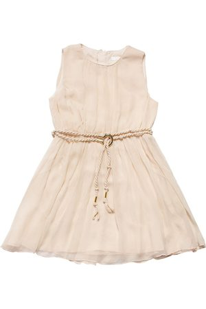 Chloé Tytöt Hihattomat Mekot - Sleeveless Silk Crepe Dress