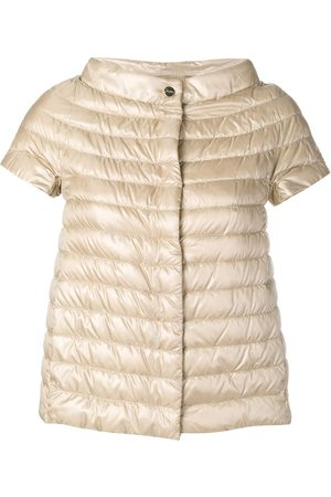 HERNO Short-sleeve feather down jacket