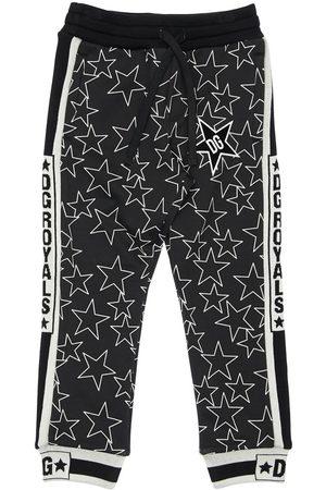 Dolce & Gabbana Stars Print Cotton Sweatpants
