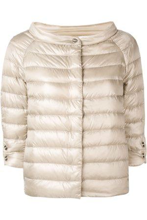 HERNO Naiset T-paidat - Short cropped sleeve jacket