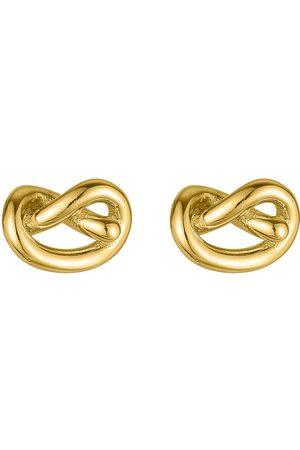 SOPHIE by SOPHIE Naiset Nappikorvakorut - Knot Studs Accessories Jewellery Earrings Studs Kulta