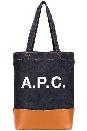 A.P.C. Axelle logo tote bag