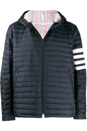 Thom Browne 4-Bar stripe padded jacket