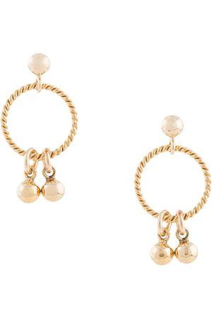 Petite Grand Droplet Studs hoop earrings