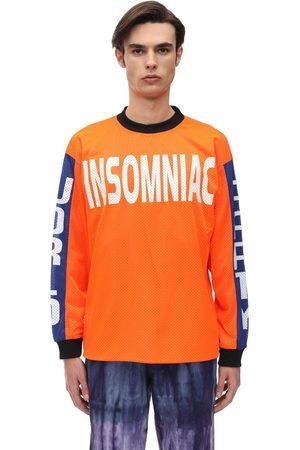 INSOMNIAC World Party L/s Cotton Jersey T-shirt