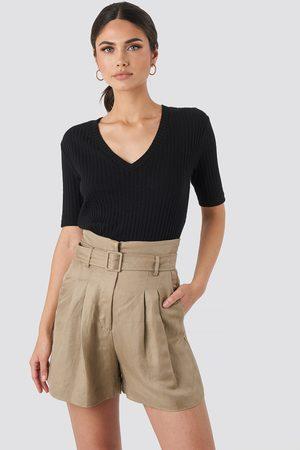 MANGO Evita Shorts - Green