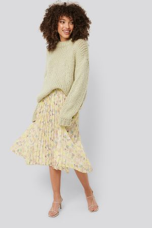 NA-KD Layered Pleated Skirt - Multicolor