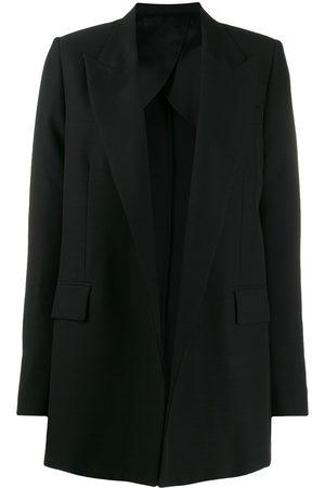Ami Paris Naiset Bleiserit - Buttonless long blazer