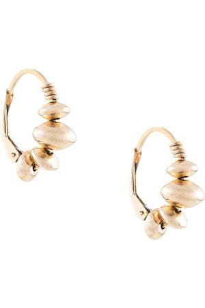 Petite Grand Little disc hoop earrings