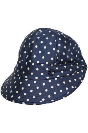 Le Mont St Michel Naiset Hatut - Min Printed Silk Hat With Visor