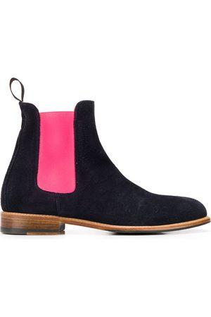 Scarosso Naiset Nilkkurit - Chelsea colour-block boots