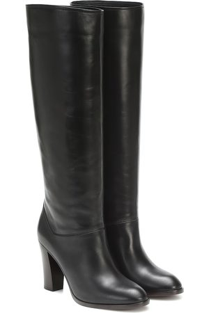 Loro Piana Debbie 90 knee-high leather boots