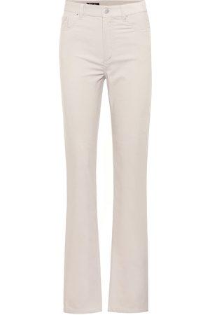 Loro Piana Rodger stretch-corduroy straight pants