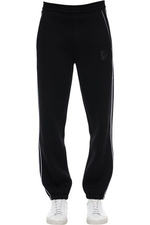 NEIL BARRETT Viscose Blend Jersey Sweatpants