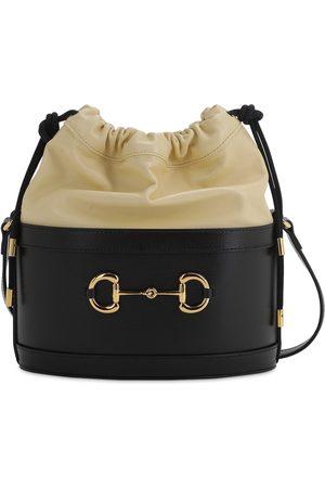 Gucci 1955 Horsebit Azalea Bicolor Leather Bag