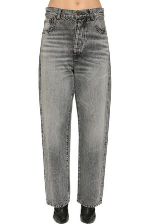UNRAVEL Baggy Cotton Denim Jeans