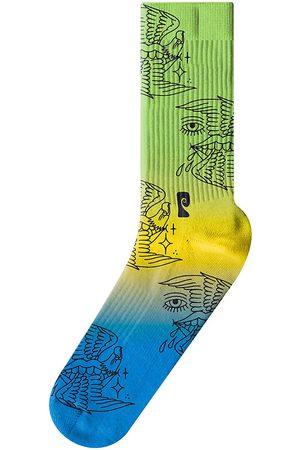 Psockadelic Miehet Sukat - Dirtsquid Siren Socks