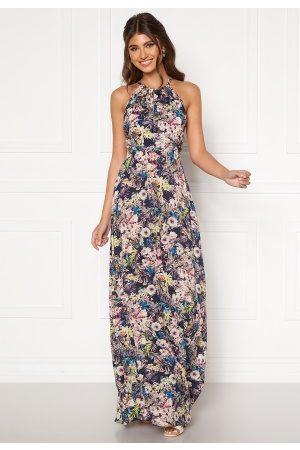 Zetterberg Couture Safira Long Flower Dress 42