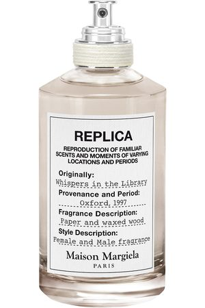 Maison Margiela Replica Whispers In The Library Eau De Toilette 100 Ml Hajuvesi Eau De Toilette Nude