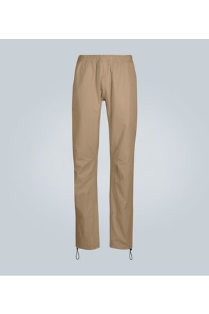 Bottega Veneta Casual paneled cotton trousers