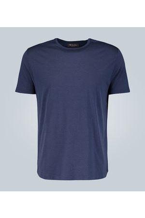 Loro Piana Silk-cotton blend T-shirt