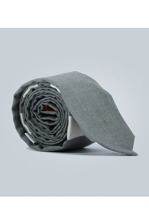 Thom Browne 4-Bar wool tie