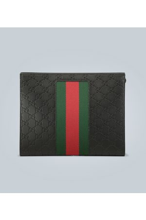 Gucci Signature Web pouch