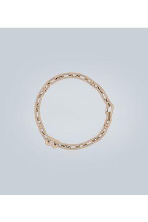 Balenciaga B Chain thin necklace