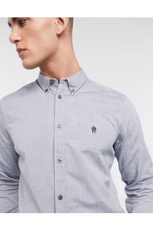 French Connection Essentials oxford shirt in blue